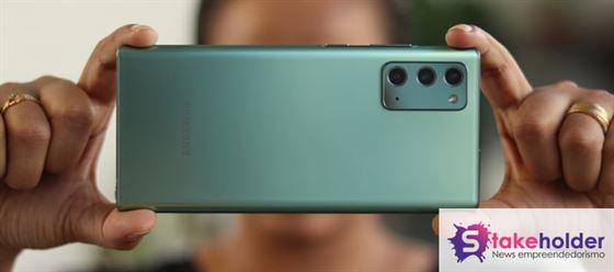 Análise Câmera Galaxy Note 20