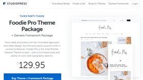 Foodie Pro - O melhor tema WordPress para sites de comida