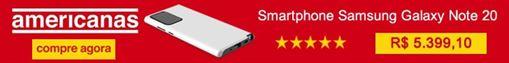 Produto Samsung Galaxy Note 20