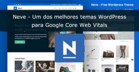 Review Tema Neve Core Web Vitals