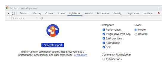 Chrome DevTools - Mensurar Métricas Page Speed Academy