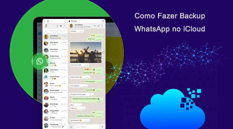 Backup do WhatsApp no iCloud