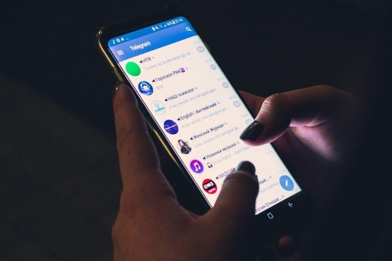 Como apagar as mensagens do Telegram no Android